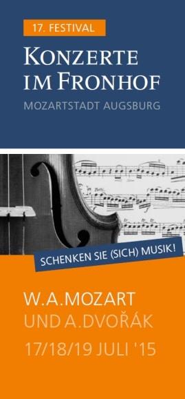 Konzerte im Fronhof Augsburg